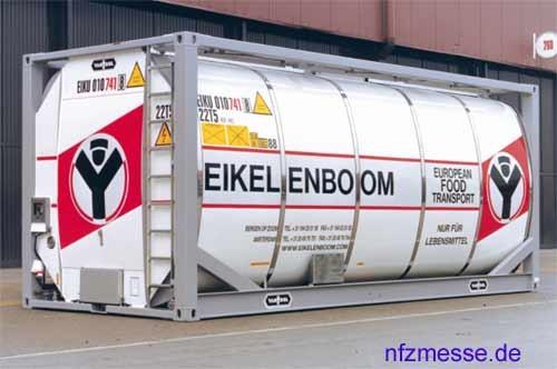 Van Hool 20 ft Tankcontainer
