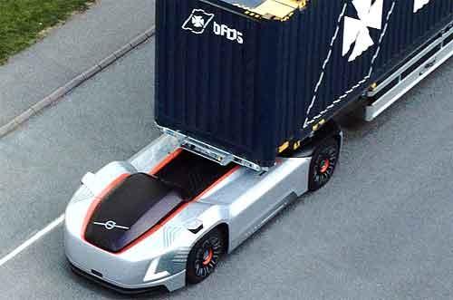 Volvo Trucks Vera ingezet in de haven van Göteborg