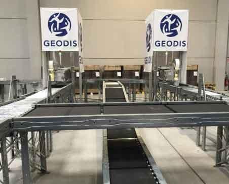 Geodis neemt sorteersysteem van BOA in gebruik