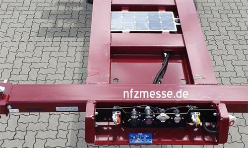 Thermo King Sonnenkollektoren zur Unterstützung des Stromaggregats