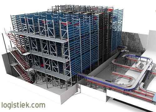 Inther Group realiseert hoogbouw diepvries-warehouse voor vleesbedrijf Westfort