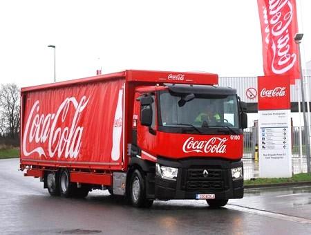 Coca-Cola Belgium-Luxemburg voorziet zijn voertuigen van camerasysteem en objectdetectie