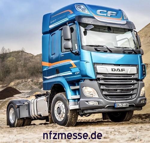 DAF CF en XF: Hydraulische vierwielaandrijving
