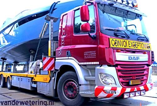 DAF CF430 FAG 6x2 boat truck