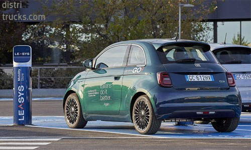 LeasysGo deelauto-service met Fiat 500 Electric