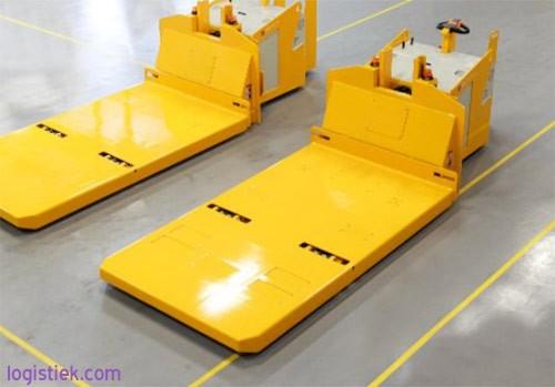 PTB Transportmiddelen — Op Afstand Bestuurbare Batterij-wisselwagens