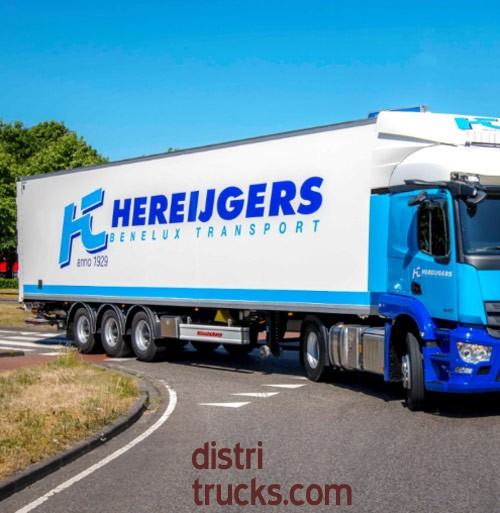 Kässbohrer Maxima gesloten trailer