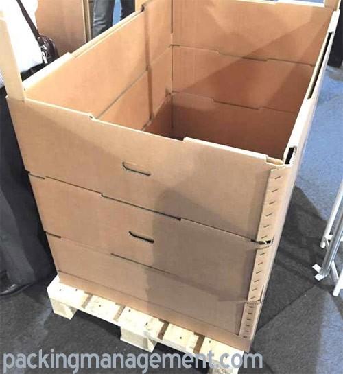 Van der Heijden Cardboard Pallet Borders