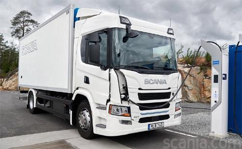 Scania 25P — vollelektrischer Antrieb