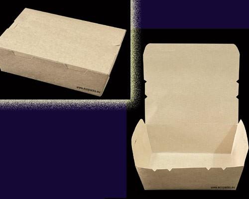 EcoPacks — Kraft Paper Lunch Boxes