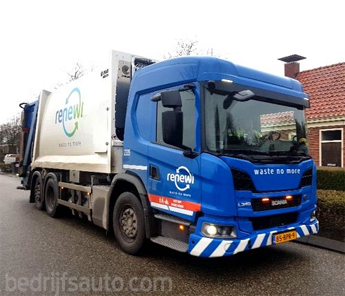 Scania L340 CNG 6x2 chassis