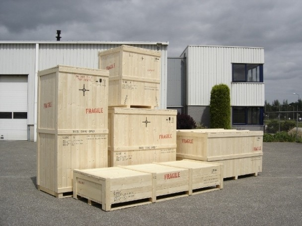 Crates — Holland Packing — Export crates