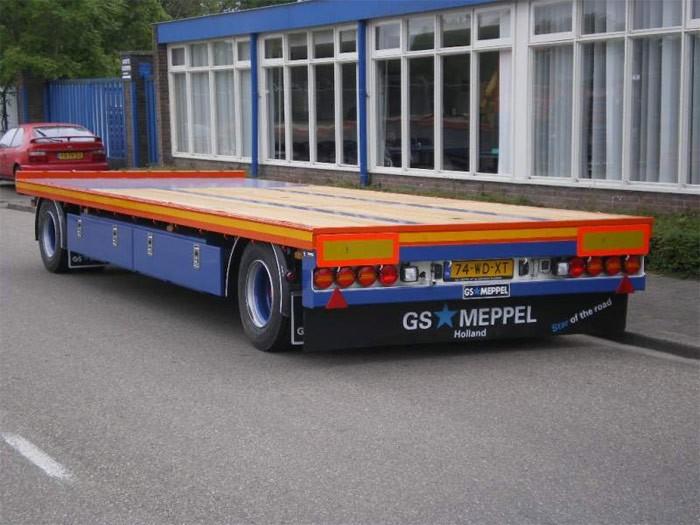 GS Meppel AV-2000 L — Niedrig-Flachanhänger