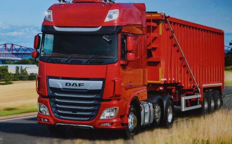 DAF FTG XF480 SuperSpaceCab — gut für 18 Tonnen auf der Sattelkupplung