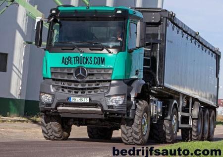 Mercedes-Benz / Harald Bruhns Arocs 2051 AK 4x4 Allrad SZM