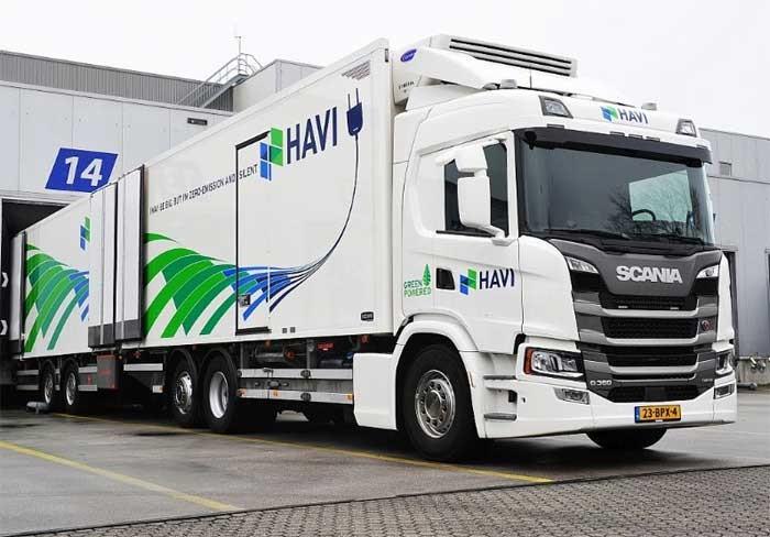 Heiwo -  Scania - Carrier - AddVolt — Elektro- und Hybridkühlkombi minimiert die Emissionen bei der Lieferung von McDonalds