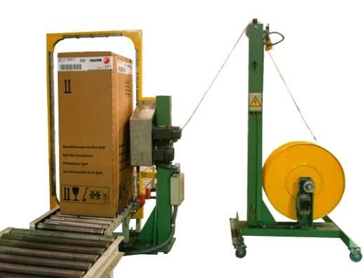 Contimeta Contistrap 060 — vertical strapping machine.