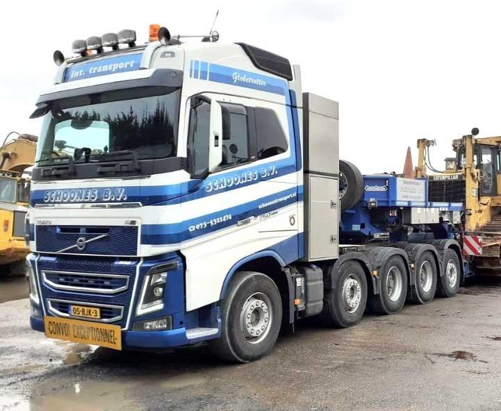 Volvo FH16 750 10x4 — zwaartransport-trekker